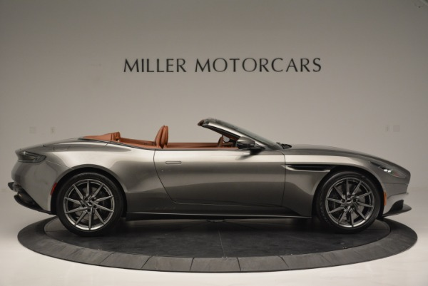Used 2019 Aston Martin DB11 V8 Convertible for sale Sold at Alfa Romeo of Greenwich in Greenwich CT 06830 9