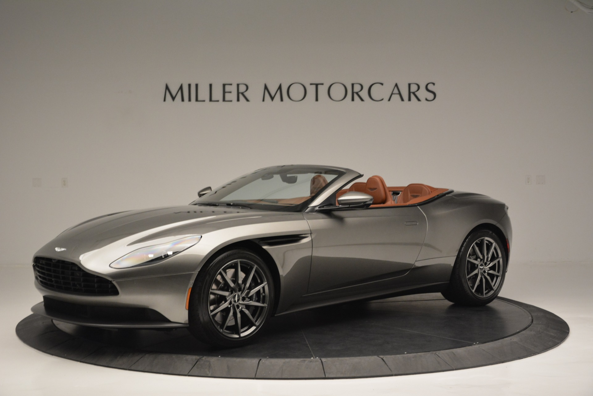 Used 2019 Aston Martin DB11 V8 Convertible for sale Sold at Alfa Romeo of Greenwich in Greenwich CT 06830 1