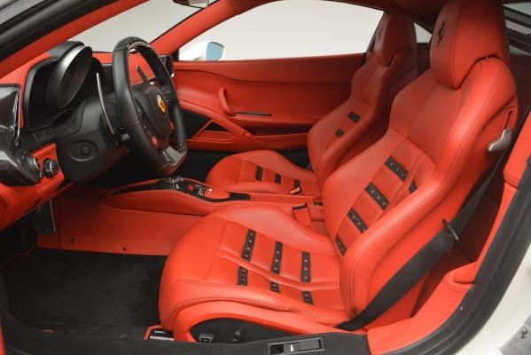 Used 2012 Ferrari 458 Italia for sale Sold at Alfa Romeo of Greenwich in Greenwich CT 06830 14