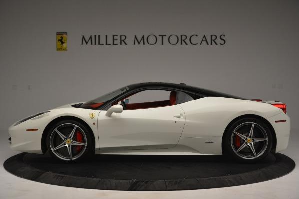 Used 2012 Ferrari 458 Italia for sale Sold at Alfa Romeo of Greenwich in Greenwich CT 06830 3