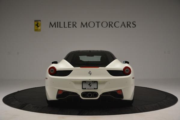 Used 2012 Ferrari 458 Italia for sale Sold at Alfa Romeo of Greenwich in Greenwich CT 06830 6