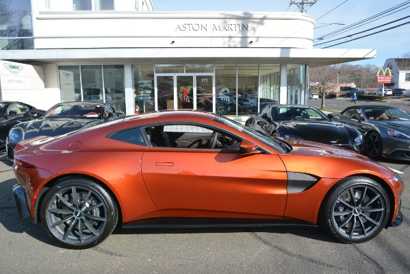 Used 2019 Aston Martin Vantage Coupe for sale Sold at Alfa Romeo of Greenwich in Greenwich CT 06830 22
