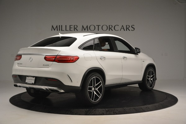 Used 2016 Mercedes-Benz GLE 450 AMG Coupe 4MATIC for sale Sold at Alfa Romeo of Greenwich in Greenwich CT 06830 8