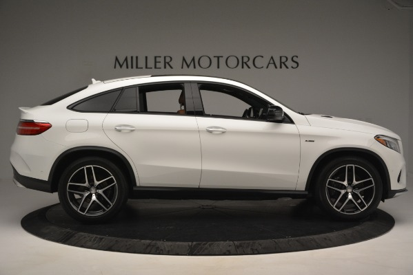 Used 2016 Mercedes-Benz GLE 450 AMG Coupe 4MATIC for sale Sold at Alfa Romeo of Greenwich in Greenwich CT 06830 9