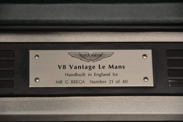 Used 1999 Aston Martin V8 Vantage Le Mans V600 Coupe for sale $499,900 at Alfa Romeo of Greenwich in Greenwich CT 06830 19