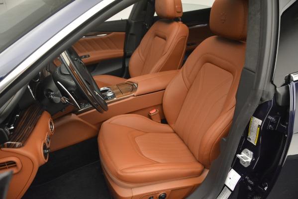 New 2019 Maserati Quattroporte S Q4 GranLusso for sale Sold at Alfa Romeo of Greenwich in Greenwich CT 06830 14