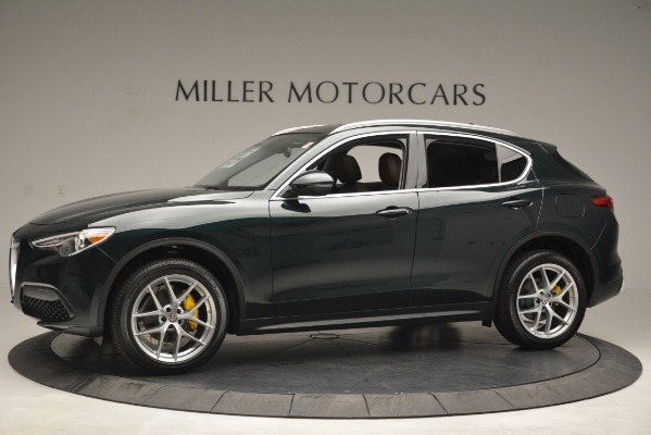 New 2019 Alfa Romeo Stelvio Q4 for sale Sold at Alfa Romeo of Greenwich in Greenwich CT 06830 2