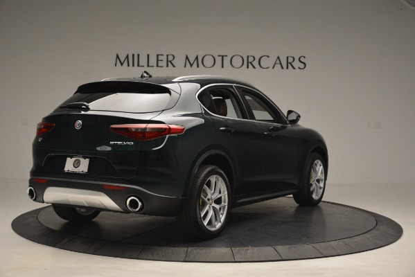 New 2019 Alfa Romeo Stelvio Q4 for sale Sold at Alfa Romeo of Greenwich in Greenwich CT 06830 7