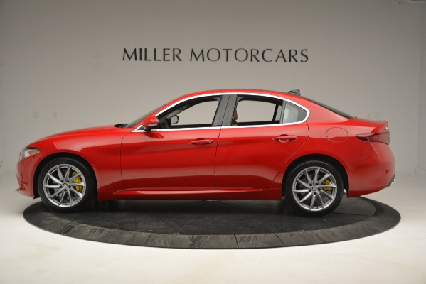 New 2019 Alfa Romeo Giulia Q4 for sale Sold at Alfa Romeo of Greenwich in Greenwich CT 06830 3