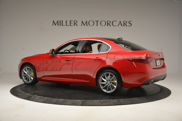 New 2019 Alfa Romeo Giulia Q4 for sale Sold at Alfa Romeo of Greenwich in Greenwich CT 06830 4