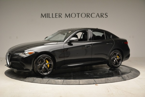 New 2019 Alfa Romeo Giulia Ti Sport Q4 for sale Sold at Alfa Romeo of Greenwich in Greenwich CT 06830 2