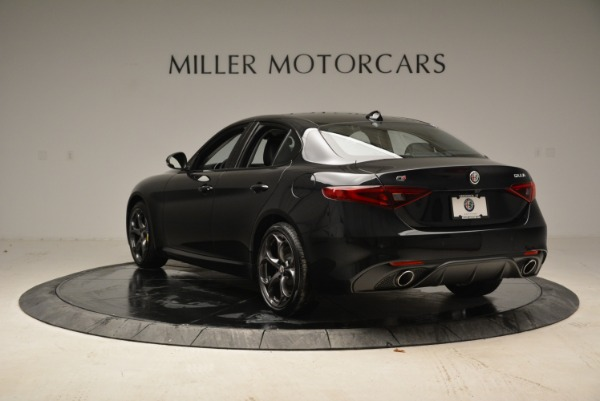 New 2019 Alfa Romeo Giulia Ti Sport Q4 for sale Sold at Alfa Romeo of Greenwich in Greenwich CT 06830 5