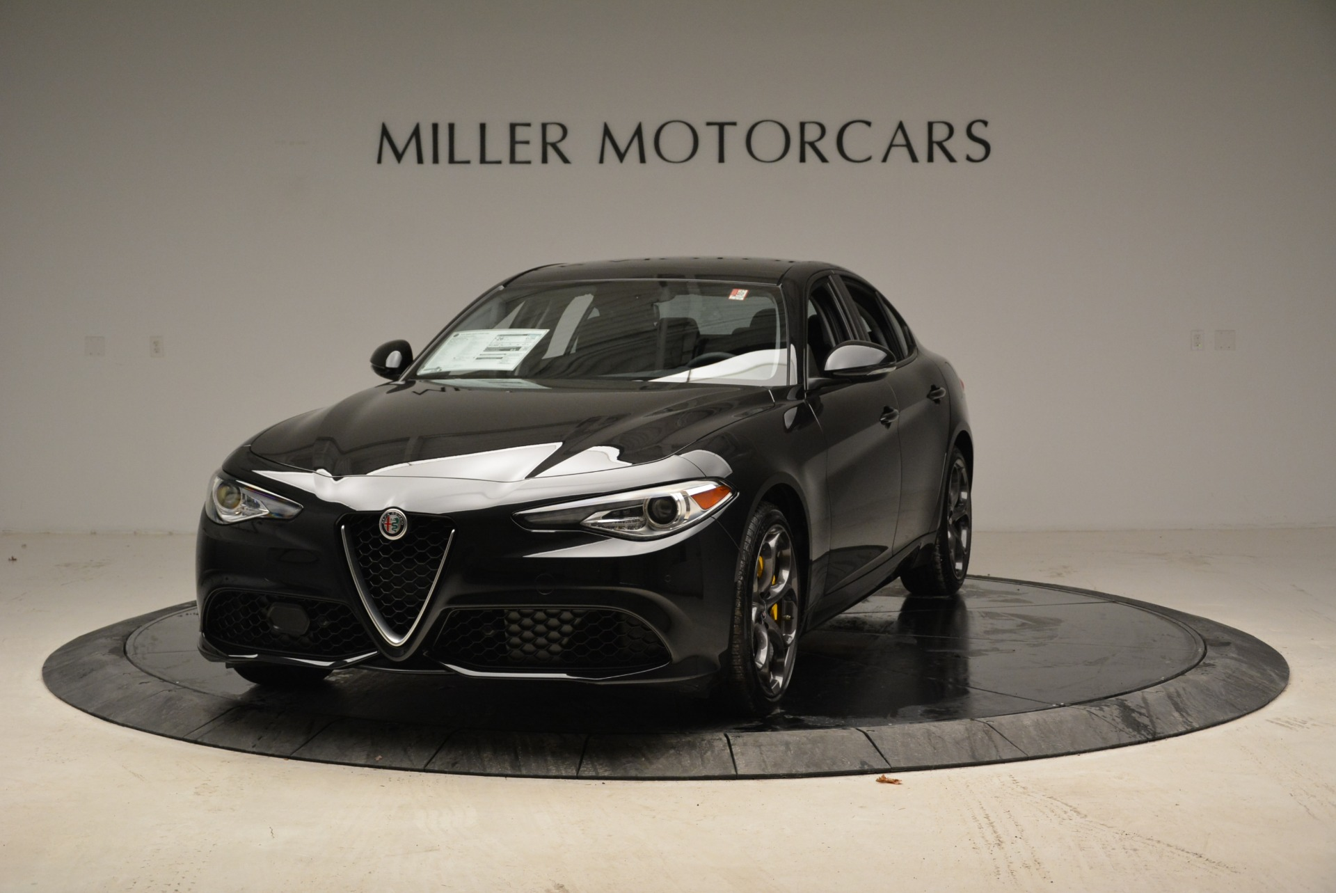 New 2019 Alfa Romeo Giulia Ti Sport Q4 for sale Sold at Alfa Romeo of Greenwich in Greenwich CT 06830 1