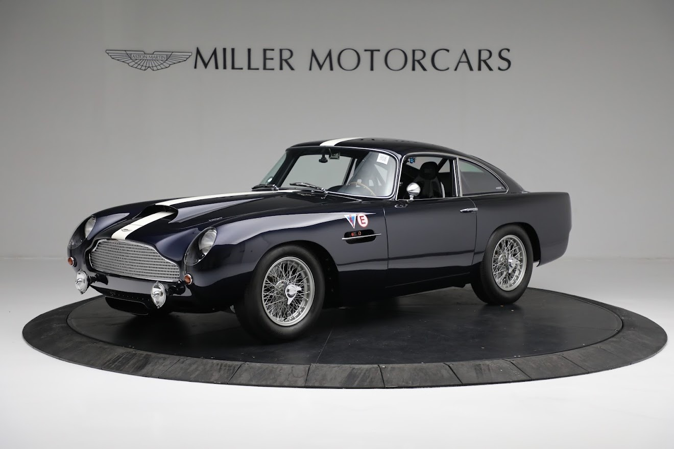 New 2018 Aston Martin DB4 GT for sale Call for price at Alfa Romeo of Greenwich in Greenwich CT 06830 1