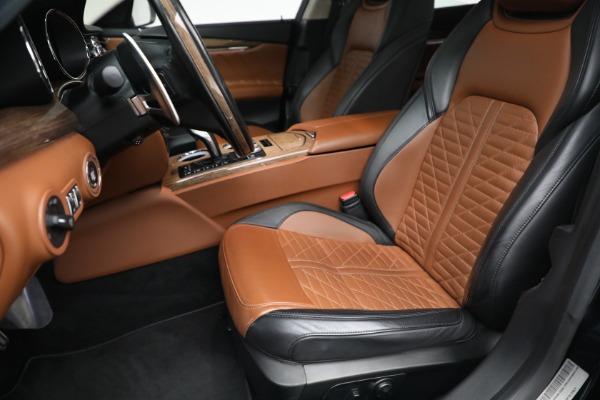 New 2019 Maserati Quattroporte S Q4 GranLusso Edizione Nobile for sale Sold at Alfa Romeo of Greenwich in Greenwich CT 06830 14