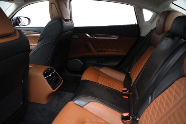 New 2019 Maserati Quattroporte S Q4 GranLusso Edizione Nobile for sale Sold at Alfa Romeo of Greenwich in Greenwich CT 06830 18