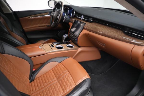 New 2019 Maserati Quattroporte S Q4 GranLusso Edizione Nobile for sale Sold at Alfa Romeo of Greenwich in Greenwich CT 06830 20