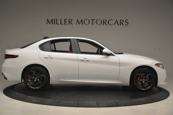 New 2019 Alfa Romeo Giulia Ti Sport Q4 for sale Sold at Alfa Romeo of Greenwich in Greenwich CT 06830 9