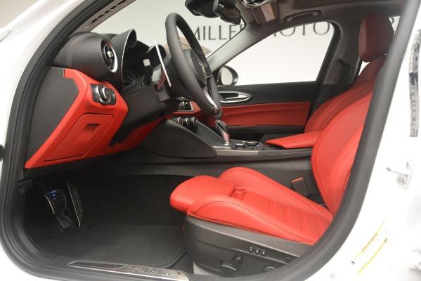 New 2019 Alfa Romeo Giulia Ti Sport Q4 for sale Sold at Alfa Romeo of Greenwich in Greenwich CT 06830 14