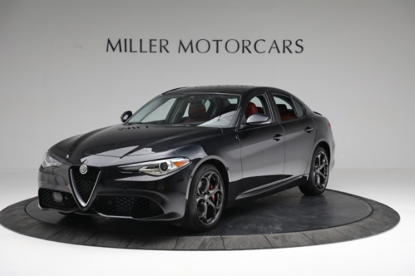 New 2019 Alfa Romeo Giulia Ti Sport Q4 for sale Sold at Alfa Romeo of Greenwich in Greenwich CT 06830 1