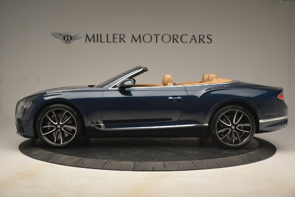 New 2020 Bentley Continental GTC for sale Sold at Alfa Romeo of Greenwich in Greenwich CT 06830 3