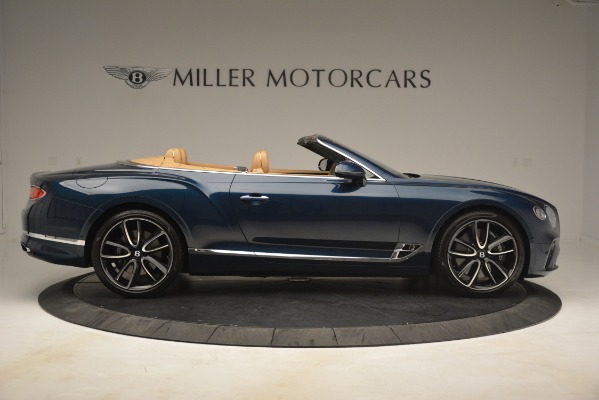New 2020 Bentley Continental GTC for sale Sold at Alfa Romeo of Greenwich in Greenwich CT 06830 9