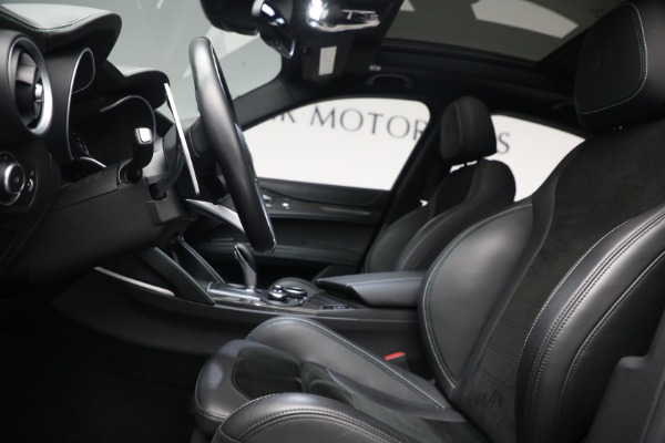 New 2019 Alfa Romeo Stelvio Quadrifoglio for sale Sold at Alfa Romeo of Greenwich in Greenwich CT 06830 14