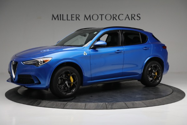 New 2019 Alfa Romeo Stelvio Quadrifoglio for sale Sold at Alfa Romeo of Greenwich in Greenwich CT 06830 2
