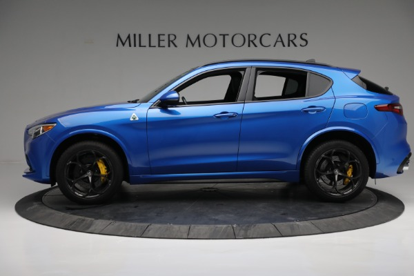 New 2019 Alfa Romeo Stelvio Quadrifoglio for sale Sold at Alfa Romeo of Greenwich in Greenwich CT 06830 3