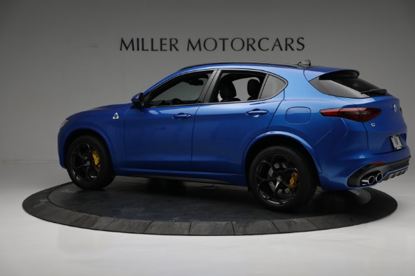 New 2019 Alfa Romeo Stelvio Quadrifoglio for sale Sold at Alfa Romeo of Greenwich in Greenwich CT 06830 4