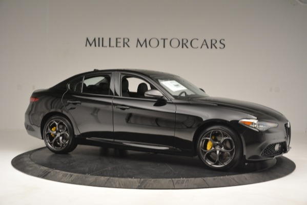 New 2019 Alfa Romeo Giulia Sport Q4 for sale Sold at Alfa Romeo of Greenwich in Greenwich CT 06830 10