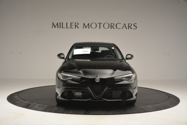 New 2019 Alfa Romeo Giulia Sport Q4 for sale Sold at Alfa Romeo of Greenwich in Greenwich CT 06830 12