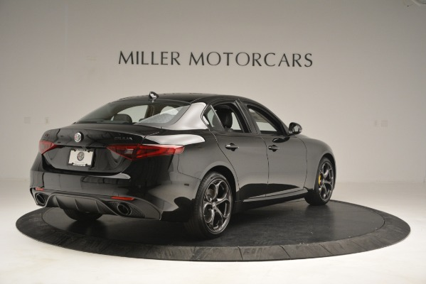 New 2019 Alfa Romeo Giulia Sport Q4 for sale Sold at Alfa Romeo of Greenwich in Greenwich CT 06830 7