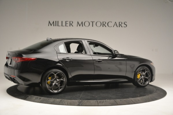 New 2019 Alfa Romeo Giulia Sport Q4 for sale Sold at Alfa Romeo of Greenwich in Greenwich CT 06830 8