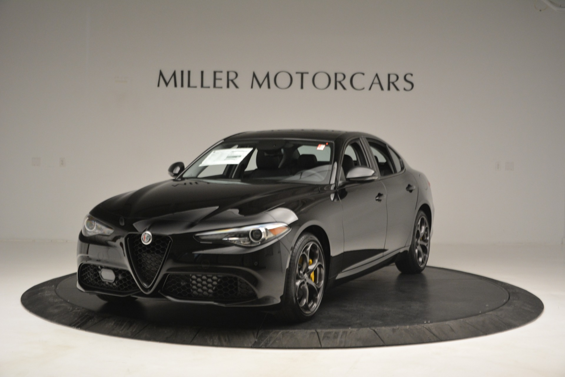 New 2019 Alfa Romeo Giulia Sport Q4 for sale Sold at Alfa Romeo of Greenwich in Greenwich CT 06830 1