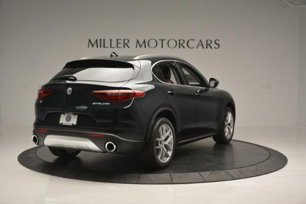 New 2019 Alfa Romeo Stelvio Ti Q4 for sale Sold at Alfa Romeo of Greenwich in Greenwich CT 06830 8