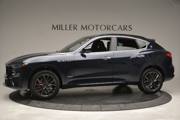 New 2019 Maserati Levante Q4 GranSport for sale Sold at Alfa Romeo of Greenwich in Greenwich CT 06830 3