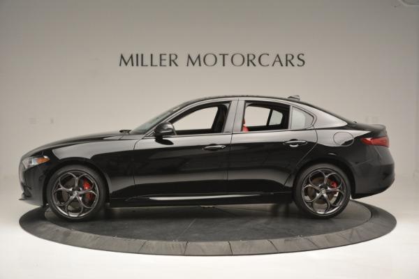 New 2019 Alfa Romeo Giulia Q4 for sale Sold at Alfa Romeo of Greenwich in Greenwich CT 06830 3