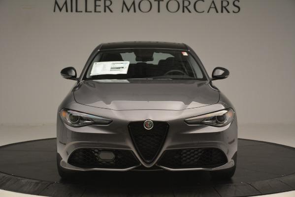 New 2019 Alfa Romeo Giulia Sport Q4 for sale Sold at Alfa Romeo of Greenwich in Greenwich CT 06830 12