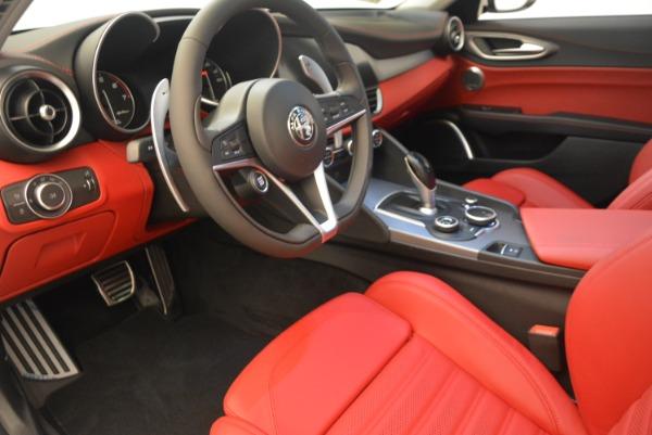 New 2019 Alfa Romeo Giulia Ti Sport Q4 for sale Sold at Alfa Romeo of Greenwich in Greenwich CT 06830 13