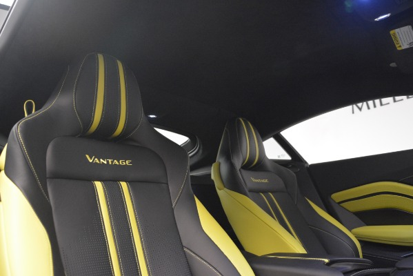 Used 2019 Aston Martin Vantage Coupe for sale Sold at Alfa Romeo of Greenwich in Greenwich CT 06830 17