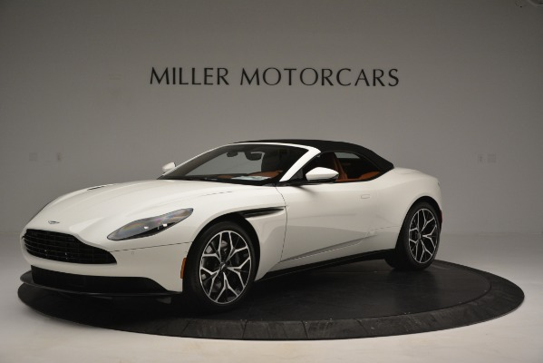 Used 2019 Aston Martin DB11 V8 Convertible for sale Sold at Alfa Romeo of Greenwich in Greenwich CT 06830 14
