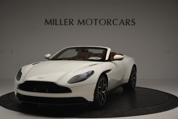 Used 2019 Aston Martin DB11 V8 Convertible for sale Sold at Alfa Romeo of Greenwich in Greenwich CT 06830 2