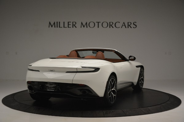 Used 2019 Aston Martin DB11 V8 Convertible for sale Sold at Alfa Romeo of Greenwich in Greenwich CT 06830 7