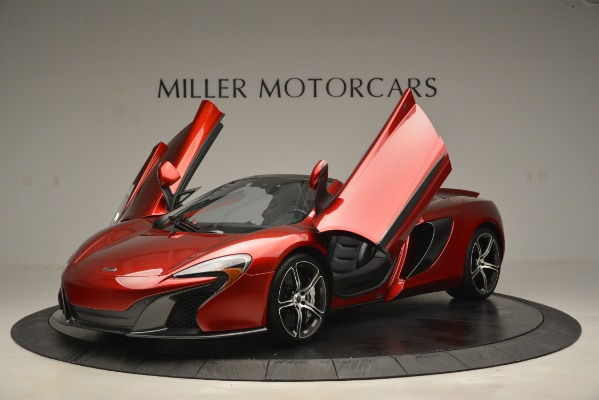 Used 2015 McLaren 650S Spider for sale Sold at Alfa Romeo of Greenwich in Greenwich CT 06830 14