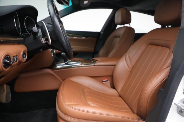 Used 2015 Maserati Quattroporte S Q4 for sale $42,900 at Alfa Romeo of Greenwich in Greenwich CT 06830 12