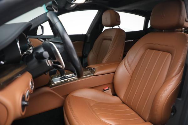 Used 2015 Maserati Quattroporte S Q4 for sale $42,900 at Alfa Romeo of Greenwich in Greenwich CT 06830 13