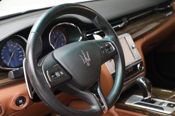 Used 2015 Maserati Quattroporte S Q4 for sale $42,900 at Alfa Romeo of Greenwich in Greenwich CT 06830 23