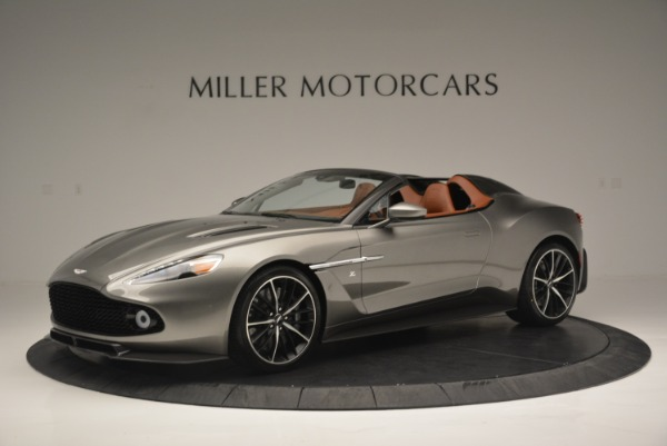 Used 2018 Aston Martin Zagato Speedster Convertible for sale Sold at Alfa Romeo of Greenwich in Greenwich CT 06830 1