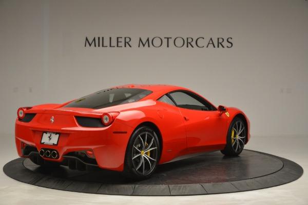 Used 2014 Ferrari 458 Italia for sale Sold at Alfa Romeo of Greenwich in Greenwich CT 06830 7